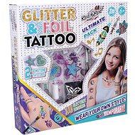 Wiky Tattoo mit Glitzer - Verschönerungsset