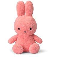 Miffy Sitting Terry Pink 33cm - Stoffspielzeug