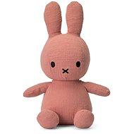 Miffy Sitting Mousseline Pink 23cm - Stoffspielzeug