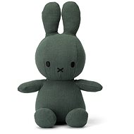 Miffy Sitting Mousseline Green 23cm - Stoffspielzeug