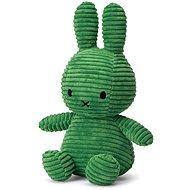 Miffy Sitting Corduroy Spring Green 23cm - Stoffspielzeug