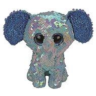 BOOS Flippables STUART, 15 cm - Eelefant mit Pailletten - Stoffspielzeug