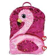 Ty Fashion Sequins größerer Glitzer Rucksack GILDA - Flamingo