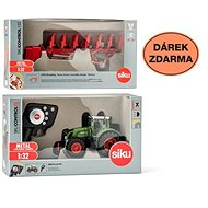Siku Control - Fendt 939 Traktor limitierte Auflage + doppelseitiger Pflug 6783 1:32
