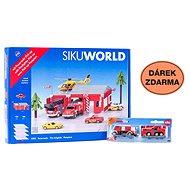 Siku World - Feuerwache + Geschenk - Metall-Model