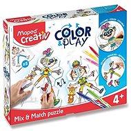Sada Maped Color&Play - Mix&Match Puzzle