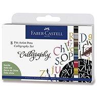 Faber-Castell Pitt Artist Pen Caligraphy - 8 Farben - Marker