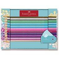 Faber-Castell Sparkle Buntstifte im Design-Metalletui - 21 Stück - Bundstifte