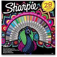Sharpie Peacock Permanent Marker - 28 Farben - Marker