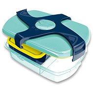 Snack-Box Maped Picnik Concept - Große Snackbox - blaugrün