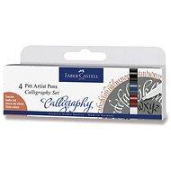 Faber-Castell Pitt Artist Pen Caligraphy - 4 Farben - Marker