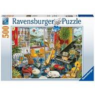 Ravensburger 168361 Musikzimmer 500 Puzzleteile - Puzzle