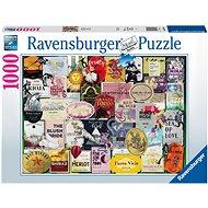Ravensburger 168118 Sammlung von Weinvignetten 1000 Puzzleteile