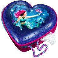 Ravensburger 3D 112494 Herz der Meerjungfrau 54 Puzzleteile - Puzzle