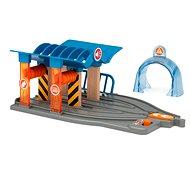 Brio World 33975 SMART TECH SOUND Geschirrspüler mit Werkstatt - Spieleisenbahn-Zubehör