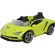Lamborghini grün - Elektroauto für Kinder