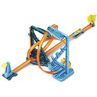 Autorennbahn Hot Wheels Track Builder Endlosschleife