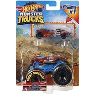 Hot Wheels Moster Trucks 1:64 mit einem Auto - Auto
