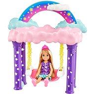 Barbie Chelsea mit Schaukelpferd - Puppen