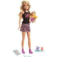Barbie Babysitter blond + Baby und Accessoires