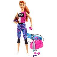 Barbie Wellness Puppe mit Matte
