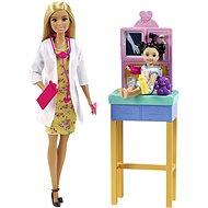 Barbie Beruf Kinderarzt Blond - Puppen