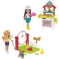 Barbie Chelsea mit Zubehör - Puppen