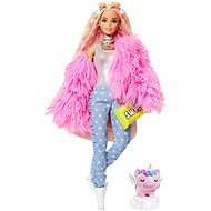 Barbie Extra - Rosafarbene Jacke - Puppen