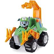 Spin Master Paw Patrol - Dino Rescue Rocky mit Deluxe Fahrzeug - Auto