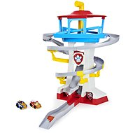 Paw Patrol Tower Rennstrecke für Spielzeugautos - Set