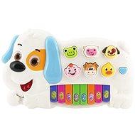 Klavier-Hund mit Tieren - Musikspielzeug