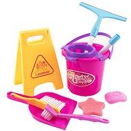 Teddies Reinigungsset / Reiniger mit Zubehör - Thematisches Spielzeugset