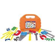 Set mit 46 Werkzeugen in Kunststoffkoffer - Kinderwerkzeug