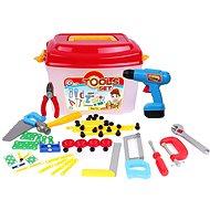 Werkzeug-Set 94 Stück in Kunststoffkoffer - Kinderwerkzeug