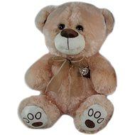 Teddybär mit Schleife braun - 40 cm - Teddybär
