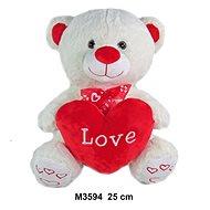Teddybär Love - 25 cm - Teddybär