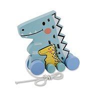 Jamara Holzspielzeug - Kidiwood Dinosaurier - Nachziehspielzeug