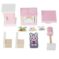 Cubika 13975 Küche - Holzmöbel für Puppen - Holzspielzeug