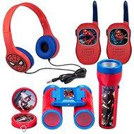 Set Spiderman - Radio, Kopfhörer, Taschenlampe, Kompass - Interaktives Spielzeug