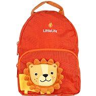 LittleLife Friendly Faces Rucksack für Kleinkinder - 2 Liter - Löwe - Rucksack