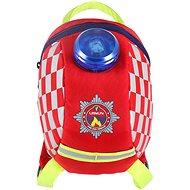 LittleLife Toddler Backpack Emergency Service - Rucksack für Kleinkinder - Feuerwehr - Rucksack