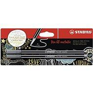 STABILO Pen 68 Metallic 2 pcs Silver in Blister