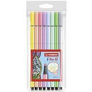 STABILO Pen 68 Pastel 8 pcs Case - Felt Tip Pens