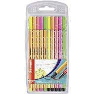 STABILO Point 88/Pen 68 Neon 10 pcs Case - Felt Tip Pens