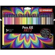 """STABILO Pen 68 30 pcs cardboard case """"ARTY"""" - Felt Tip Pens"""