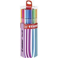 STABILO Pen 68 20 pcs Twin Pack Pink/Blue, Hanging - Felt Tip Pens