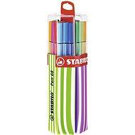 STABILO Pen 68 20 pcs Twin Pack Pink/Green