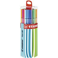 STABILO Pen 68 20 pcs Twin Pack Blue / Green, Hanging