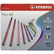 STABILO Pen 68 20 pcs Metal Case