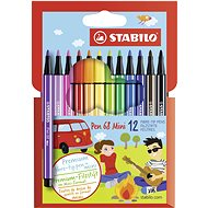 STABILO Pen 68 Mini 12 pcs cardboard case - Felt Tip Pens